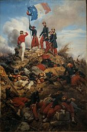 Today in Labor History: March 30.  French soldiers raise their flag, after the capture of Sevastopol, in the Crimean War.