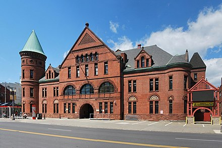 Washington Armory, NY, built in 1890, in the wake of the Saint Louis Commune and the Great Upheaval
