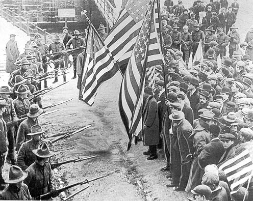 Labor History, March 12, Lawrence strike ends