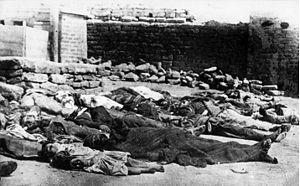 Azerbaijani victims of the Bolshevik takeover of Baku.