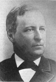 Franklin Gowen, (1836–1889). District Attorney for Schuylkill County, Pennsylvania, president of the Philadelphia and Reading Railroad