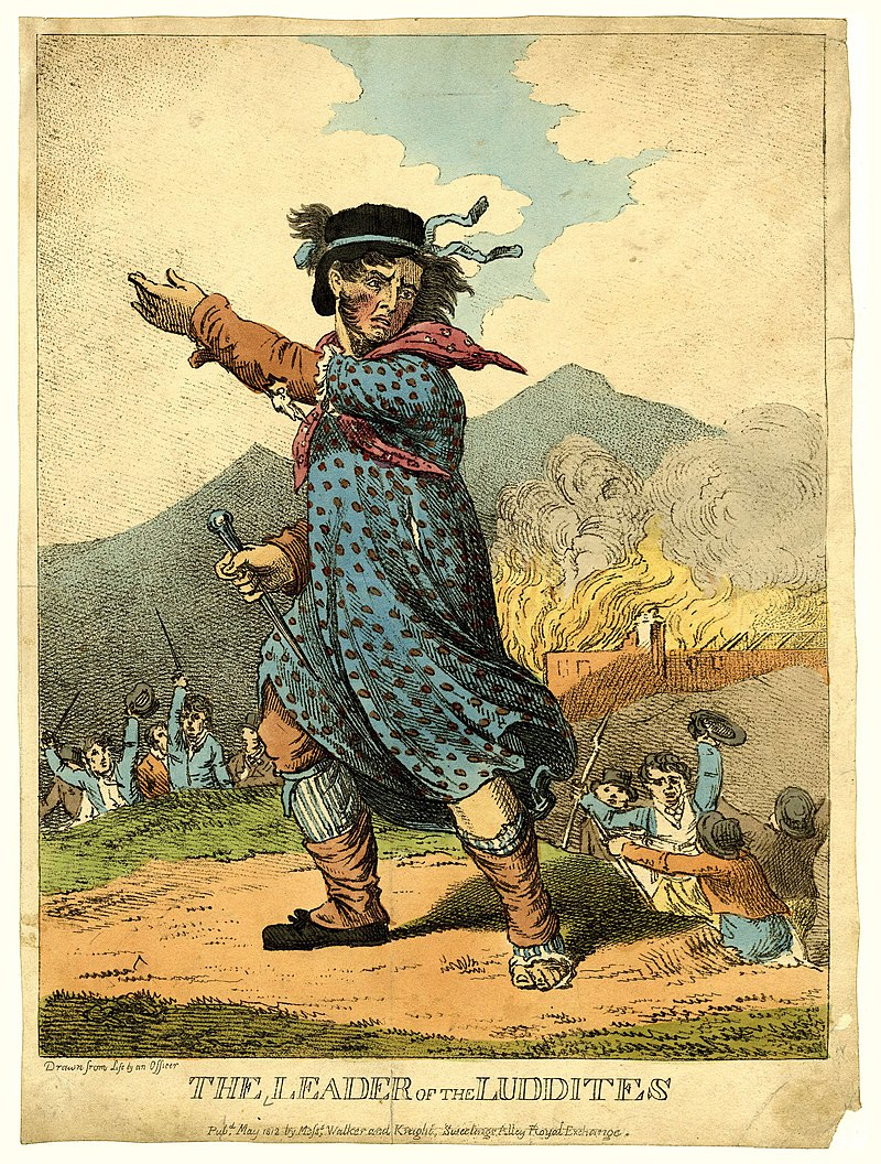 Labor History April 4, Ned Ludd