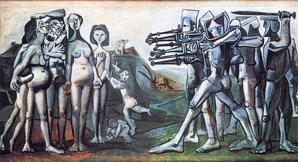 Massacre in Korea, Picasso