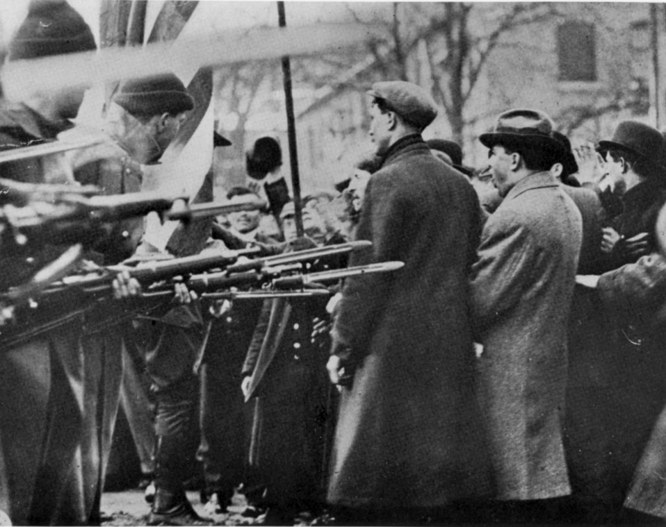 Today in Labor History April 20, 1912, workers celebrated their victory in Lowell, MA.