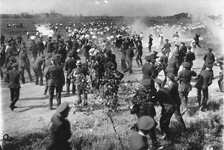 """Today in Labor History May 26, 1937: The """"Little Steel"""" strike began. May 30, Chicago cops attacked strikers, killing 10."""