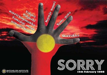 National Sorry Day, Australia