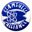 Clamshell Alliance button
