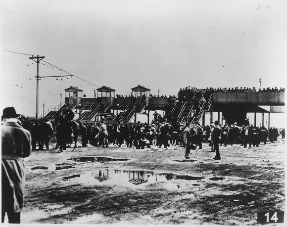 Today in Labor History May 26, 1937, Battle of the Overpass. Henry Ford attacked striking workers.