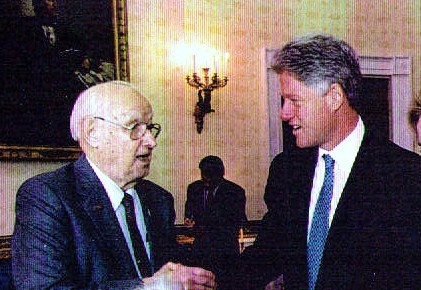 UAW executive Victor Reuther & Clinton