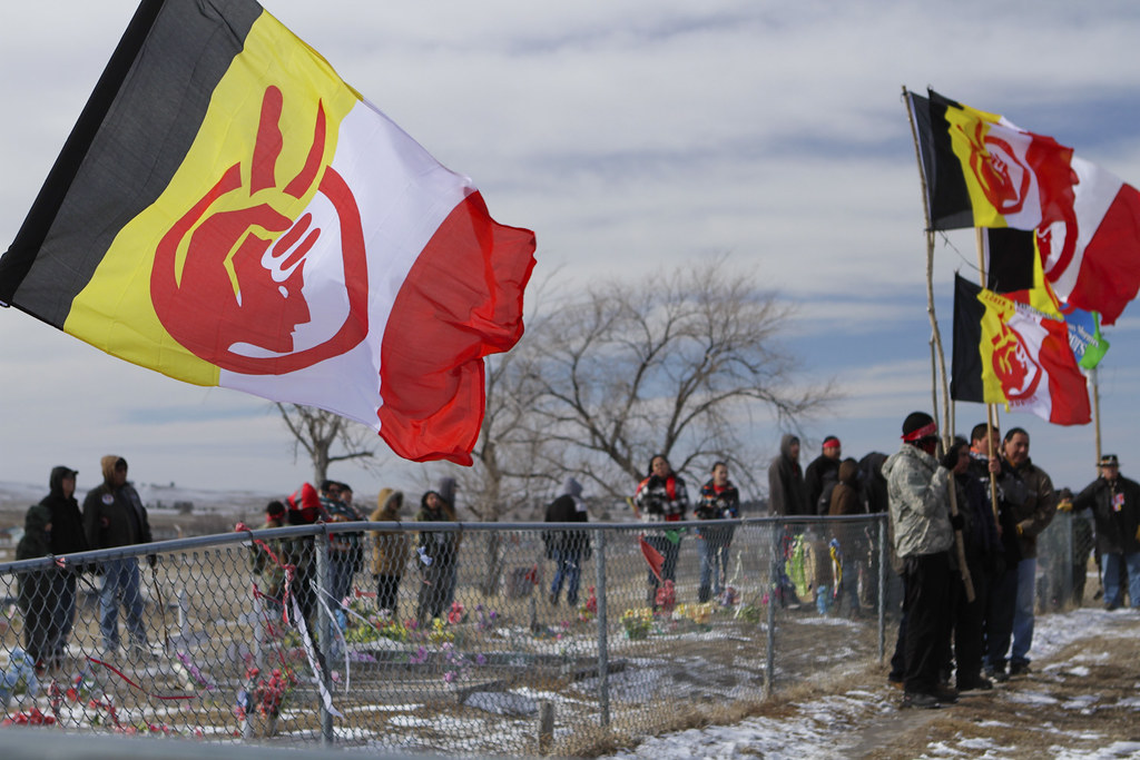 Liberation Day at Wounded Knee.