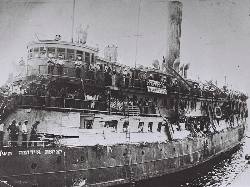 Today in Labor History July 11, 1947: The Exodus 1947 left France for Palestine carrying 4,500 Jewish Holocaust survivorswith no legal immigration certificates for Palestine