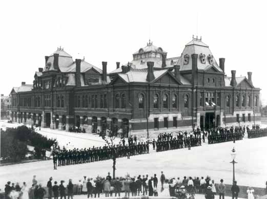 Today in Labor History July 10, 1894, troops put down the Pullman Strike.